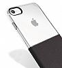 Eiroo Half to Life iPhone 7 Bordo Silikon Kılıf - Resim 3