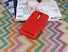 Eiroo Honeycomb Asus Zenfone 2 Kırmızı Silikon Kılıf - Resim 1