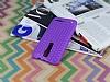 Eiroo Honeycomb Asus Zenfone 2 Mor Silikon Kılıf - Resim 2