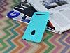 Eiroo Honeycomb Asus Zenfone 5 Su Yeşili Silikon Kılıf - Resim 2