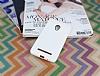 Eiroo Honeycomb Asus Zenfone 5 Beyaz Silikon Kılıf - Resim 1