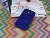 Eiroo Honeycomb Samsung Galaxy J5 Lacivert Silikon Kılıf - Resim 1
