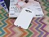 Eiroo Honeycomb Samsung Galaxy J7 Beyaz Silikon Kılıf - Resim 1