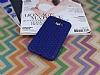 Eiroo Honeycomb Samsung Galaxy J7 Lacivert Silikon Kılıf - Resim 1