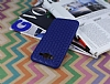 Eiroo Honeycomb Samsung Galaxy J7 Lacivert Silikon Kılıf - Resim 2
