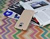 Eiroo Honeycomb Samsung Galaxy S5 Krem Silikon Kılıf - Resim 2