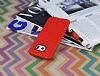 Eiroo Honeycomb Samsung Galaxy S6 edge Kırmızı Silikon Kılıf - Resim 2