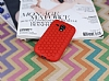 Eiroo Honeycomb Samsung i8190 Galaxy S3 Mini Kırmızı Silikon Kılıf - Resim 1