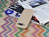 Eiroo Honeycomb Samsung i9300 Galaxy S3 Krem Silikon Kılıf - Resim 2