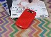 Eiroo Honeycomb Samsung i9300 Galaxy S3 Kırmızı Silikon Kılıf - Resim 1