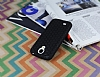 Eiroo Honeycomb Samsung i9500 Galaxy S4 Siyah Silikon Kılıf - Resim 2