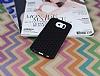 Eiroo Honeycomb Samsung i9800 Galaxy S6 Siyah Silikon Kılıf - Resim 1