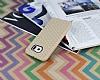 Eiroo Honeycomb Samsung i9800 Galaxy S6 Krem Silikon Kılıf - Resim 2