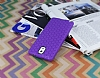 Eiroo Honeycomb Samsung N9000 Galaxy Note 3 Mor Silikon Kılıf - Resim 5