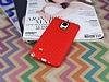 Eiroo Honeycomb Samsung N9100 Galaxy Note 4 Kırmızı Silikon Kılıf - Resim 1