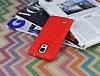 Eiroo Honeycomb Samsung N9100 Galaxy Note 4 Kırmızı Silikon Kılıf - Resim 2