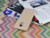 Eiroo Honeycomb Samsung N9100 Galaxy Note 4 Krem Silikon Kılıf - Resim 2