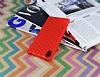 Eiroo Honeycomb Sony Xperia M4 Aqua Kırmızı Silikon Kılıf - Resim 2