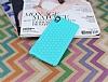 Eiroo Honeycomb Sony Xperia M4 Aqua Su Yeşili Silikon Kılıf - Resim 1