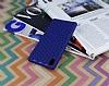 Eiroo Honeycomb Sony Xperia M4 Aqua Lacivert Silikon Kılıf - Resim 2