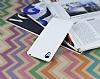 Eiroo Honeycomb Sony Xperia Z3 Plus Beyaz Silikon Kılıf - Resim 2