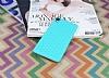 Eiroo Honeycomb Sony Xperia Z3 Su Yeşili Silikon Kılıf - Resim 1