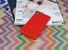 Eiroo Honeycomb Sony Xperia Z3 Kırmızı Silikon Kılıf - Resim 1