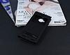 HTC One M9 Plus Gizli Mıknatıslı Pencereli Siyah Deri Kılıf - Resim 1