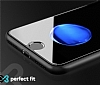 Eiroo Huawei GR5 2017 Curve Tempered Glass Beyaz Full Cam Ekran Koruyucu - Resim 1