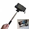Eiroo Huawei P10 Bluetooth Tuşlu Selfie Çubuğu - Resim 5
