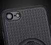 Eiroo Infinity Ring iPhone 7 / 8 Selfie Yüzüklü Siyah Silikon Kılıf - Resim 6