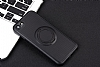 Eiroo Infinity Ring iPhone 7 / 8 Selfie Yüzüklü Siyah Silikon Kılıf - Resim 9