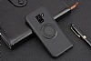Eiroo Infinity Ring Samsung Galaxy A8 2018 Selfie Yüzüklü Silikon Kılıf - Resim 2