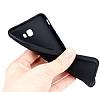 Eiroo Infinity Ring Samsung Galaxy J5 2016 Selfie Yüzüklü Siyah Silikon Kılıf - Resim 3