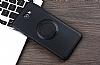 Eiroo Infinity Ring Samsung Galaxy J7 Prime Selfie Yüzüklü Siyah Silikon Kılıf - Resim 3