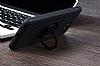 Eiroo Infinity Ring Samsung Galaxy J7 Prime Selfie Yüzüklü Siyah Silikon Kılıf - Resim 4