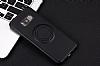 Eiroo Infinity Ring Samsung Galaxy S8 Plus Selfie Yüzüklü Siyah Silikon Kılıf - Resim 9