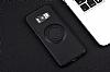 Eiroo Infinity Ring Samsung Galaxy S8 Selfie Yüzüklü Siyah Silikon Kılıf - Resim 9