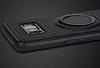 Eiroo Infinity Ring Samsung Galaxy S8 Selfie Yüzüklü Siyah Silikon Kılıf - Resim 6