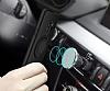 Eiroo Infinity Ring Samsung Galaxy S9 Selfie Yüzüklü Siyah Silikon Kılıf - Resim 3