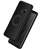 Eiroo Infinity Ring Samsung Galaxy S9 Selfie Yüzüklü Siyah Silikon Kılıf - Resim 1