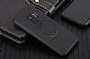 Eiroo Infinity Ring Samsung Galaxy S9 Selfie Yüzüklü Siyah Silikon Kılıf - Resim 5