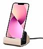 Eiroo iPhone 13 Lightning Masaüstü Dock Gold Şarj Aleti