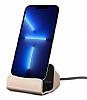 Eiroo iPhone 13 Pro Max Lightning Masaüstü Dock Gold Şarj Aleti