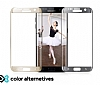 Eiroo iPhone 6 / 6S Curve Tempered Glass Full Cam Rose Gold Ekran Koruyucu - Resim 2