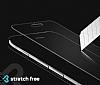 Eiroo iPhone 6 Plus / 6S Plus Curve Tempered Glass Full Kırmızı Cam Ekran Koruyucu - Resim 3