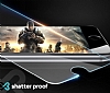 Eiroo iPhone 6 Plus / 6S Plus Curve Tempered Glass Full Kırmızı Cam Ekran Koruyucu - Resim 2