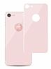 Eiroo iPhone 7 / 8 Tempered Glass Arka Rose Gold Cam Ekran Koruyucu - Resim 5