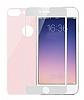Eiroo iPhone 7 Plus / 8 Plus Tempered Glass Ön + Arka Rose Gold Cam Ekran Koruyucu - Resim 5