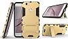 Eiroo Iron Armor Huawei Nova Standlı Ultra Koruma Gold Kılıf - Resim 7